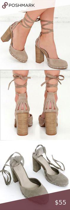 Luna B Silver Faux Leather Vegan Block Heel Sandals | Beyond
