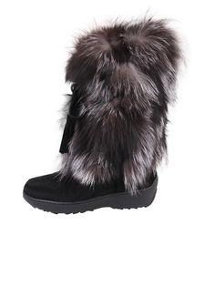 Pajar Fox Trot in Black (Black Fox) | Lyst