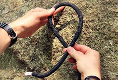 https://flic.kr/s/aHsjh8mzZU | Threaded Figure-Eight | Learn how to tie a Threaded Figure-Eight with our Knot of the Week mini-series on climbing knots.