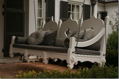 Now that's a porch swing!