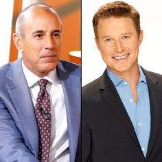 Matt Lauer Wishes Billy Bush 'the Very Best' After 'Today' Show Exit