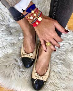 """Anna Skoog on Instagram  """"✨Friday deets ✨  sara lashay jewellery  chanel  flats 240e1eeb17f"""