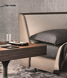 Minotti Ipad - SPENCER BED | LETTI - IT