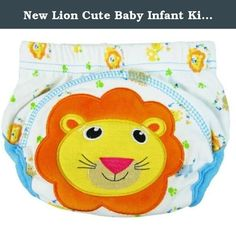 New Lion Cute Baby Infant Kids Toilet Pee Potty Training Pants Cloth Underwear Diaper Size L (11~16 Kg). New Cute Baby Infant Kids Toilet Pee Potty Training Pants Cloth Underwear Diaper Size L (11~16 kg) Features: * 100% brand new with high quality; * Repeated use, more environmental protection than paper diapers; * It's easy cleaning and Comfortable; * Unique design, protect your baby's tender bottom; * Make your children look more cute. Size: L: Fit about 15~32 months/ 11~16 kg baby....