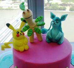 pokemon cake detail
