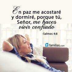 Dios te dará confianza