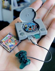 Mini play station! I wonder of they have other mini systems? So cute!