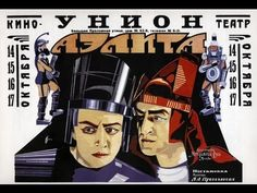 "Russia's first  science fiction film was ""Aelita"" in 1924"