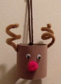 Toilet roll toss clip art | Toilet Paper Roll Reindeer Craft | Art of Toria Mason