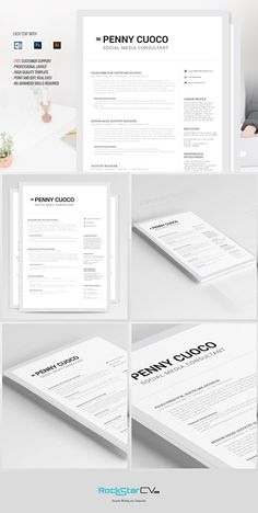The Professional  Psd  Word Doc  Best Creativemarket And