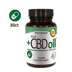 Plus CBD™ Capsules are not your average health food store hemp oil supplement! Plus CBD™ gives you CBD-rich hemp oil in easy-to-take vegan capsules. Our CBD-rich hemp oil comes from special hemp cultivars that are amazingly abundant sources of natural CBD, 25 mg per capsule. Great if you're always on the go, these everyday CBD-rich hemp oil capsules travel with you and can be taken at any time, even on an empty stomach. People worldwide have been including hemp and hemp oil in their diets.