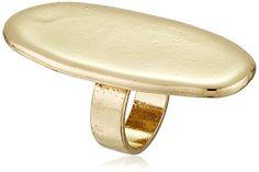 Sam Edelman Oval Disc Ring, Size 7
