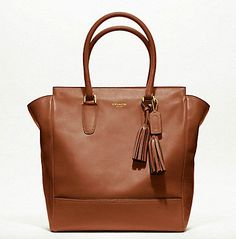 So on my list!  The new collection from Coach 'Legacy'  Tanner Tote (Large)!!
