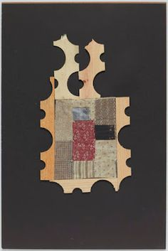 Collage work from the 60's and 70's by Louise Nevelson