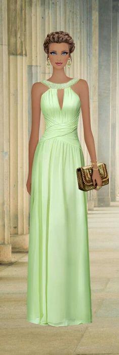Covet Fashion Game. Look: Modern Princess of Greece