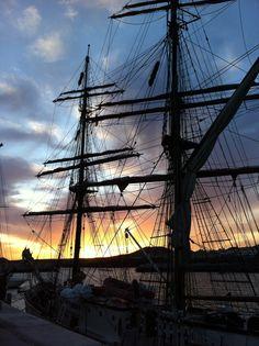 Luxury Mediterranean Sailing Holidays on the French & Italian Riviera - Essential Sailing Sailing Holidays, Luxury Yachts, Tall Ships, Tenerife, Sailing Ships, Sunsets, Cruise, Coast, Island