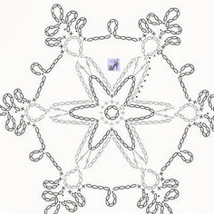 Crochet Snowflake Pattern, Crochet Snowflakes, Crochet Motif, Crochet Baby, Christmas Stars, Christmas Ornaments, Baby Patterns, Doilies, Macrame
