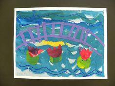 Waterlelies van Monet