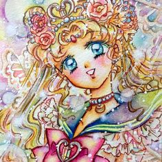 "sailor-moon-rei: ""by kota "" Sailor Moom, Arte Sailor Moon, Sailor Moon Fan Art, Sailor Moon Character, Sailor Moon Manga, Sailor Moon Crystal, Sailor Venus, Sailor Moon Background, Sailor Moon Wallpaper"