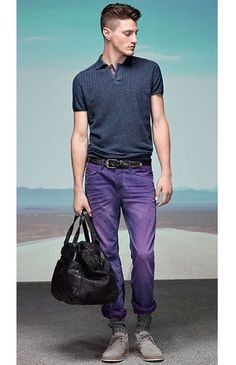 Hugo Boss Orange Spring/Summer 2015 | Men's Fashion | Menswear | Men's Casual Outfit | Moda Masculina | Shop at designerclothingfans.com