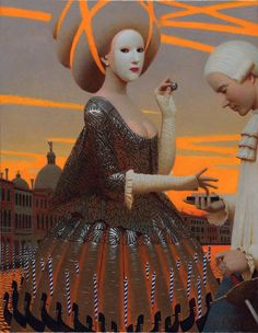 The painting style of Moscow based artist Andrey Remnev lies somewhere between antiquity and contemporary. One look at his work, and it should come as no surprise that he studied painting at the Ho…