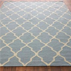 Diamond Trellis Dhurrie Rug: 5 Colors Exactly what I've been wanting for my family room!