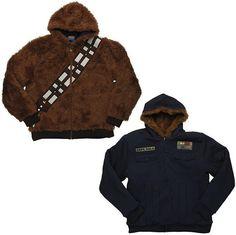 Chaqueta reversible Chewbacca - Han Solo