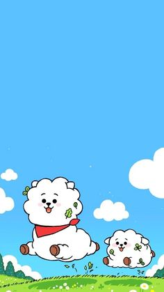 Army Wallpaper, Bts Wallpaper, Iphone Wallpaper, Cute Cartoon Wallpapers, Pretty Wallpapers, Pop Stickers, Bts Aesthetic Pictures, Bts Drawings, Bts Chibi