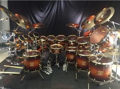 Nick Perdomo's New Drums