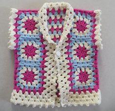 Grande Baby Tunic Crochet Baby Vest Baby Girl Coat Crochet Warm Vest Baby Girl Clothes Pink Vest Handmade Baby Clothes Crochet Newborn Jacket - Uncinetto - Motivi Per Uncinetto Crochet Baby Sweaters, Crochet Clothes, Baby Knitting, Baby Girl Vest, Handgemachtes Baby, Crochet Girls, Newborn Crochet, Gilet Crochet, Crochet Tunic