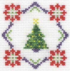 picture of Christmas biscornu