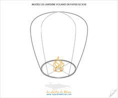 tuto pour fabriquer des lanternes volantes en papier de soie