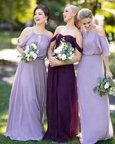 7cccff373ede5 28 bridesmaid dresses that looks great! 00003. Lavender BridesmaidPurple  Bridesmaid DressesWedding Bridesmaid FlowersSorella Vita ...