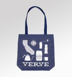 verve coffee roasters california tote