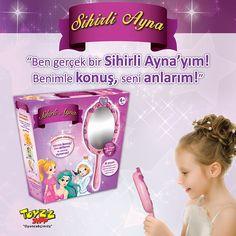 Sihirli Ayna ile masallar gerçek oluyor. Ben gerçek bir Sihirli Ayna'yım! Benimle konuş,seni anlarım! Toyzz Shop #ANKAmall'da.