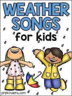 Kindergarten Songs, Weather Kindergarten, Teaching Weather, Kindergarten Classroom, Montessori Elementary, Science Classroom, Teaching Reading, Elementary Teacher, Elementary Art