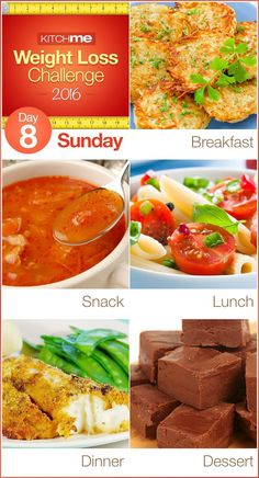 Day eight Meal Plan Recipes – Weight Loss Problem for Weight Watchers - Potato L. Day eight Meal Plan Recipes – Weight Loss Problem for Weight Watchers - Potato Latkes, Cabbage Soup, Avocado Tomato Pasta Weight Loss Challenge, Weight Loss Meal Plan, Weight Watchers Meals, Fast Weight Loss, Lose Weight, Reduce Weight, Diet Challenge, Lunch Snacks, Keto
