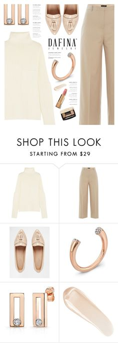 """""""Dafina Jewelry"""" by yexyka ❤ liked on Polyvore featuring Joseph, Piazza Sempione, Carvela, NARS Cosmetics and Chanel"""