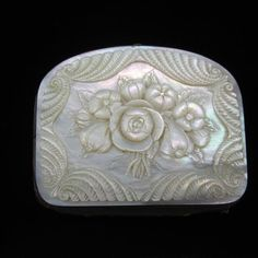 Antique Mother of Pearl Coin Purse 1800's Hand Carved Mother of Pearl Coin Purse on Etsy, $124.00