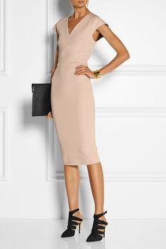 Diane von Furstenbergshoes, Victoria Beckham dress and clutch - Pepper Potts
