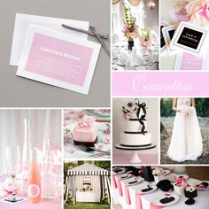 You really can't go wrong with Pink & Black. #weddingcolors #weddingplanning #tips