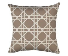 In/outdoor kussenhoes Lattice, 45 x 45 cm | Westwing Home & Living