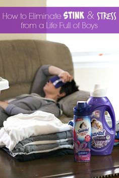 Do the boys in your home have you holding your nose?  Come see how to eliminate stink & stress from a life full of boys with the help of Suavitel® Fragrance Pearls™ from Walmart! #LongLastingScent #ad