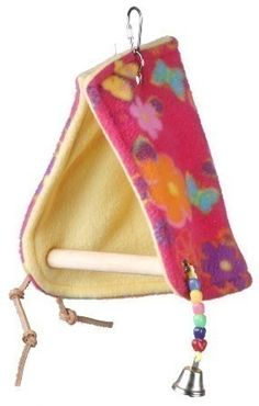 E-SB474 Peekaboo Perch Tent Medium by Super Bird Creations - HUTS/TENTS