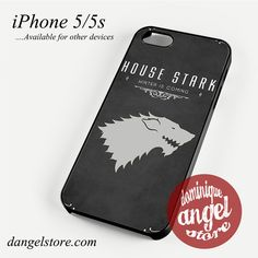 Game of Thrones House Stark Phone case for iPhone 4/4s/5/5c/5s/6/6 plus