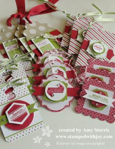 Pop & Place Gift Tags Amy Storrie, stampedwithjoy.com