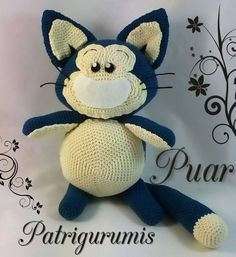 DIY Puar amigurumi en ganchillo - Crochet