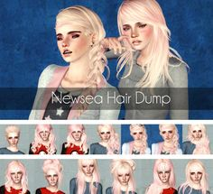 Newsea`s Hair Dump by Magically Delicious for Sims 3 - Sims Hairs - http://simshairs.com/newseas-hair-dump-by-magically-delicious/