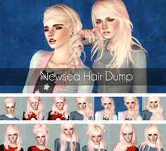 Newsea`s Hair Dump by Magically Delicious for Sims 3 - Sims Hairs - http://simshairs.com/newseas-hair-dump-by-magically-delicious/