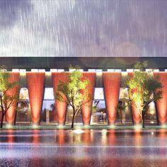 Administrativní budova a showroom lampárna - Ostrava Architekti, Showroom, Design, Fashion Showroom